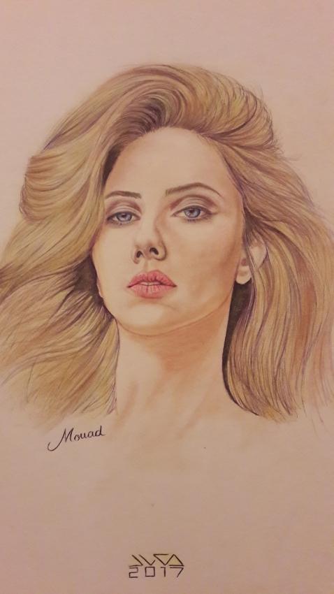 Scarlett Johansson par Mouad